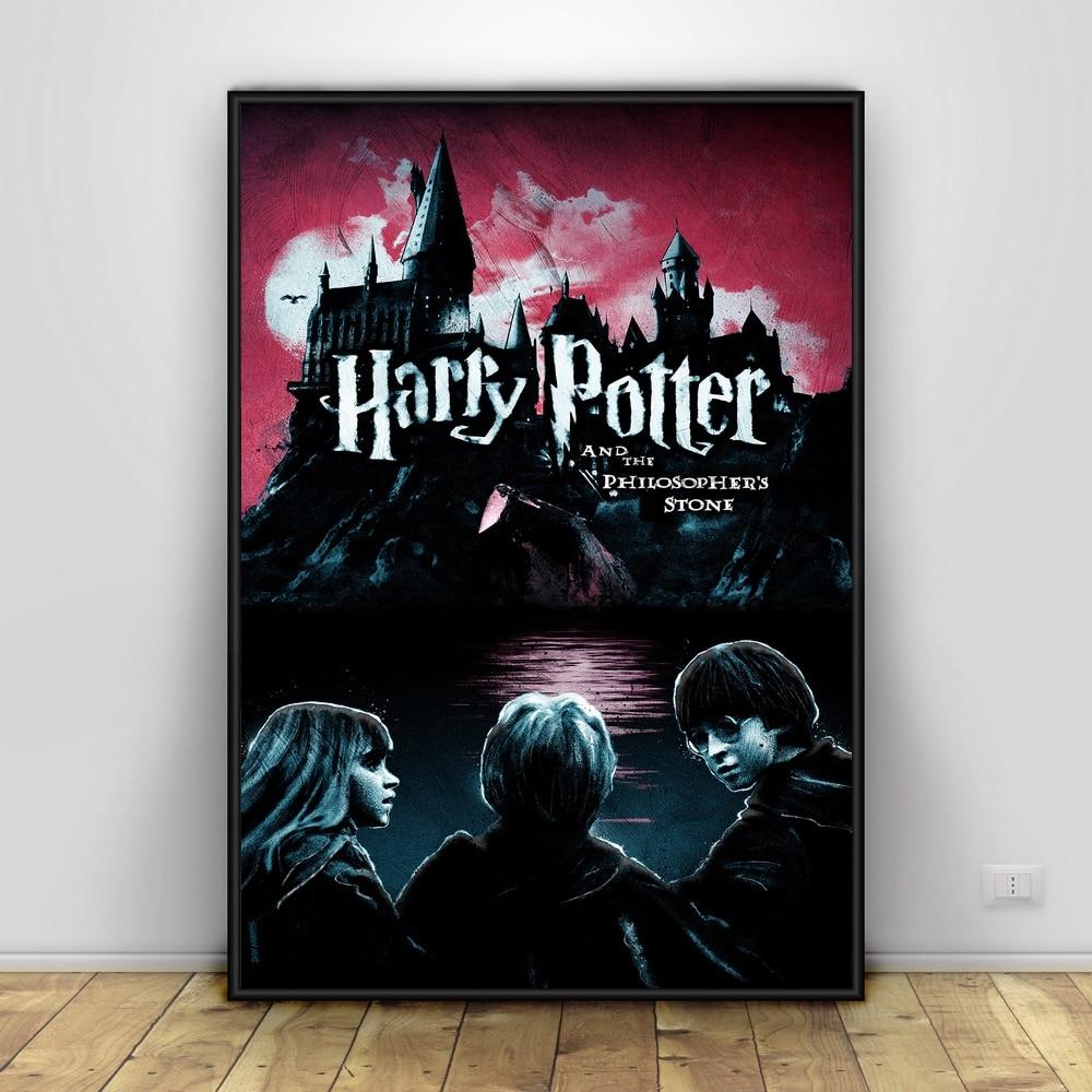 Harry Potter Und Die philosoph Stein (2001) Art Silk Poster Wohnkultur 12x18 24x36 zoll