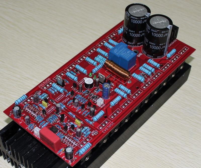 Double AC45-50V 700W power amplifier board ( excluding radiators ),high supply power A amplifier board все цены