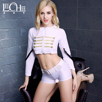 Lechee sexy uniforms Cosplay role playing costumes Halloween costumes sexy lingerie porno CP034