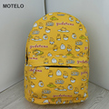 Lovely Gudetama Lazy Egg Printed Canvas Backpack Egg Yolk Brother Cartoon School Bags B H