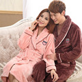 Flannel Couple Bathrobe Winter Robe Sexy Robes Dressing Gowns For Women Bathrobes Robes For Women Dressing Gown Badjas Dames