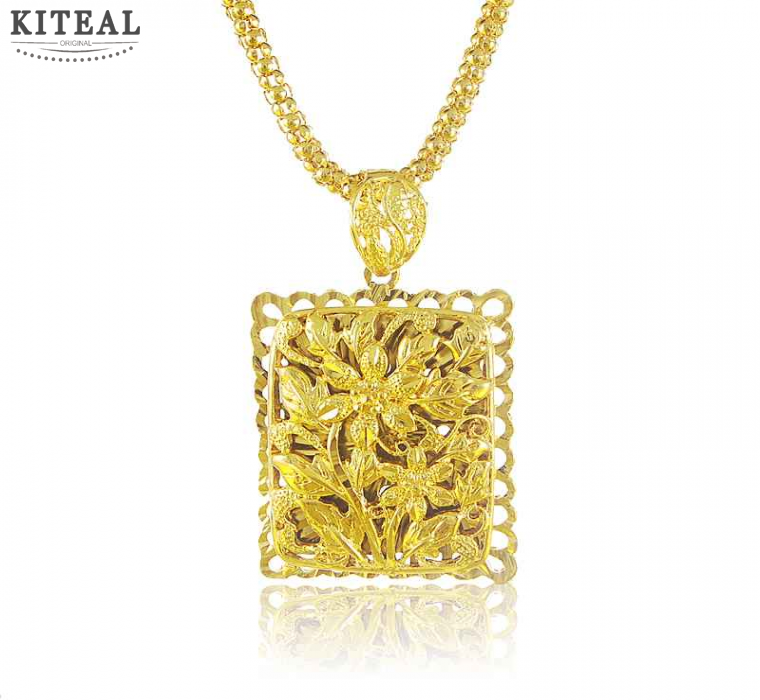 Free Shipping 2016 New 24k Gold Plated Necklaces Pendants Dragon Cards Vintage Necklace Horloge HBN266