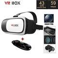 Google Картон VR BOX 2.0 Версия Виртуальная Реальность 3D Очки VR Гарнитура с Smart Bluetooth для Беспроводной Пульт Дистанционного Управления Геймпад