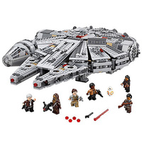 Star Wars Force Awakens Millennium Falcon solo Figure Compatible LEGOs 75105 StarWars Model Building Blocks Toys For Children