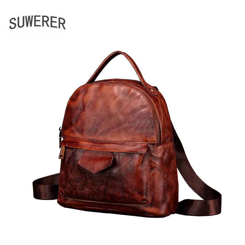2019 New women Genuine leather bag designer famou brand leather women backpack fashion Original Casual women leather backpack2019 New women Genuine leather bag designer famou brand leather women backpack fashion Original Casual women leather backpack