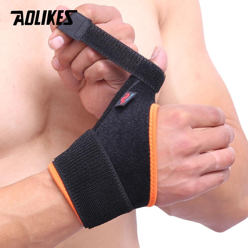 AOLIKES 1PCS Thumb Sprain Protective Wrist Support Wraps