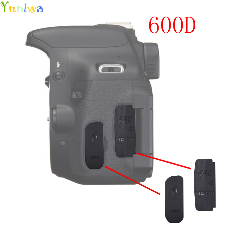 US $3 66 39% OFF|For Canon 600D USB/HDMI DC IN/VIDEO OUT Rubber Door Bottom  Cover Rubber DSLR Camera Replacement Unit Repair Part *-in Photo Studio