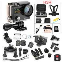 Original cámara de Acción H3R MLLSE control remoto 4 K WiFi 1080 P/60fps 30 M A Prueba de agua la Cámara de 2.0 LCD 170 lente Casco Pro Sport