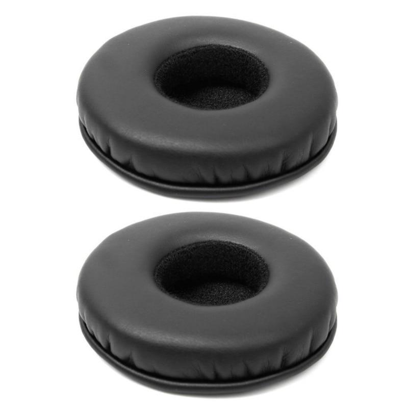 Almofada de espuma esponja de substituição macio earpad para sony mdr-v150 v250 v300 v100 v200 z400 zx100 zx300 fones de ouvido