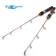 Made in china NEW ice fishing rod carbon rod 56cm 76cm Raft boat pole ice fishing rod fishing tackle set Free shipping
