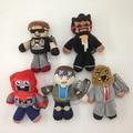 18-23cm Minecraft Steve Tube Heroes Plush Toys Tube Heroes TDM Captain Sparklez Sky Exploding Jeromeasf Stuffed Toys Child Gifts