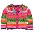 Catimini niñas ropa de primavera 2016 de otoño de la muchacha de manga larga navy géneros de punto de punto de algodón camiseta del suéter capa de las muchachas enfant 1