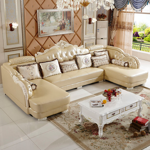 3 seat + 2 stks lounge) europese couch voor kleine woonkamer # CE ...