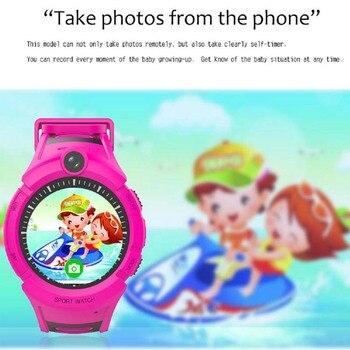 Q360 Child smartwatch SOS Anti-Lost Monitor Tracker baby GPS Watch Kids Smart Watch with Camera GPS WIFI Location PK Q528 Q90 6