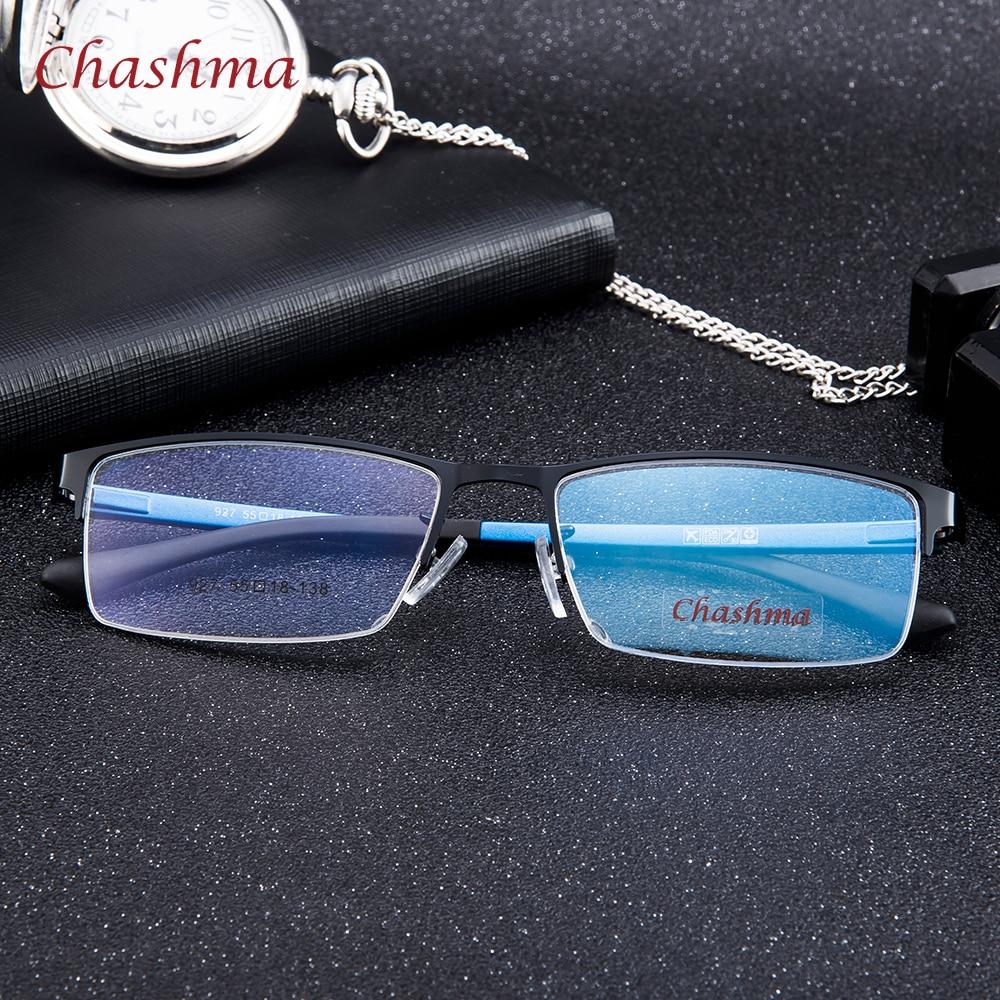 Syzet e markës Chashma Gentlemen Syzet e Meshës Blu Gjysma Rimmed - Aksesorë veshjesh - Foto 2