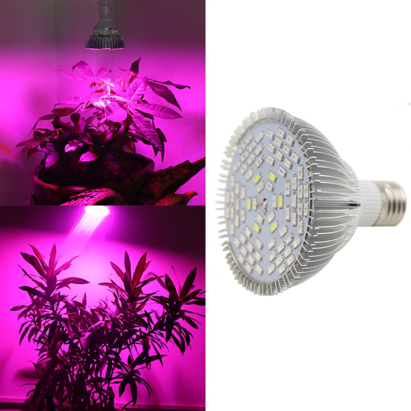 120 LED أضواء E27 التيار المتناوب 85 ~ 265 فولت 80 واط تنمو حوض سمك خفيف زهرة النبات نظام الزراعة المائية-في صمامات ثنائية باعثة للضوء من مصابيح وإضاءات على