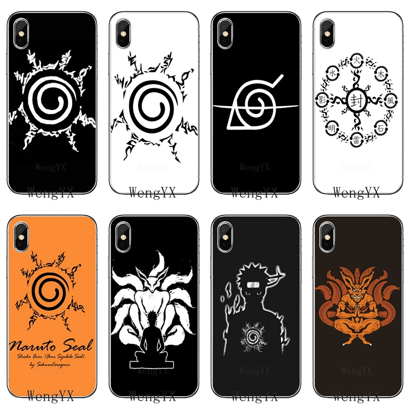Naruto Seal Shiki Fujin silicone TPU Soft phone cover case For Huawei Honor 4C 5A 5X 5C 6 Play 6X 6A 6C pro 7X 8 9 Lite V8 V10