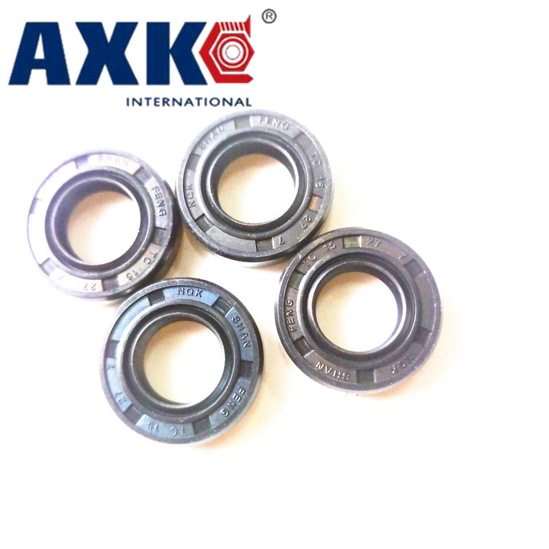 AXK 50x65x8/9/10  50x67x11 Nitrile Rubber NBR Double Lip Spring TC Ring Gasket Radial Shaft Skeleton Oil Seal