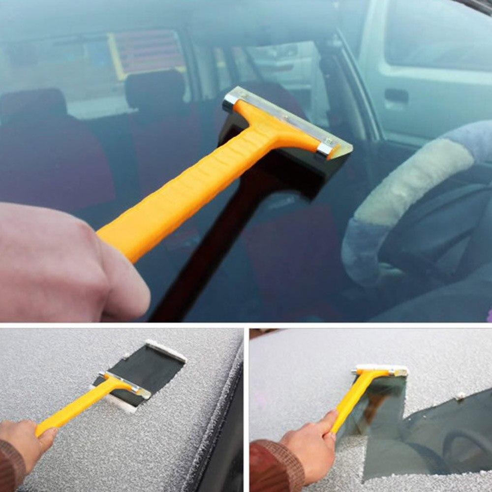 Snowmobile Parts Snow Shovel Beef Scraper Car Foil Scraper Long Handle Deicing Shovel Car Glass Cleaning Tools Top Watermelons