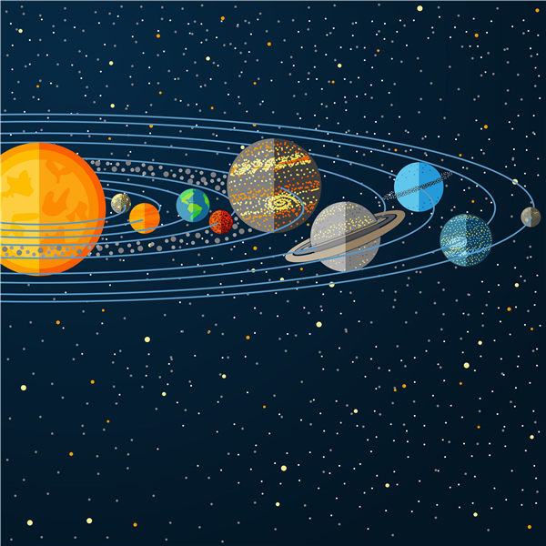US $4 39 21% OFF|Cosmic Planet Canvas Art, Vast Solar System Planets Galaxy  Posters Prints, Kids Boy Room Wall Decor Comet Pictures No Frame-in