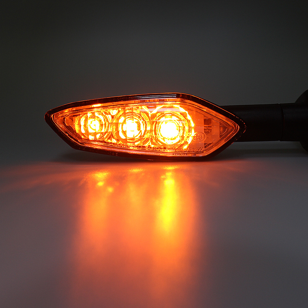 LED Turn Signals Indicator Light for YAMAHA FZ8 FZ6 N S R FZ1N FZ1 Fazer XJ6 Diversion F TDM 900 Motorcycle Accessories Blinker