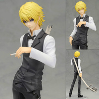22cm Pop Hot Sale DuRaRaRa!! Heiwajima Shizuo Anime Figure Renewal Ver. 1/8 Scale PVC Action Figures Collectible Model Toy WX396