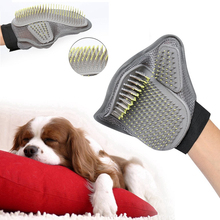 Grooming glove for Dog & Cat for medium to long hair