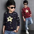 2017 Autumn Baby Boys Sweater Children Clothing Casual Big Boys Sweaters Kids O-Neck Pullover Baby Clothes Boys Top Outerwear