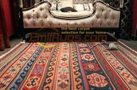 kilim carpets handmade wool vintage American style living room Turkey and Iran Persian exotic gc126 5yg4