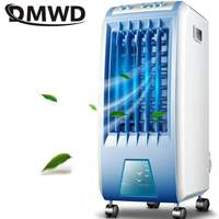 DMWD 3 gears 6L Cooling Air Conditioner Fan Humidifier Moisturizing Device Portable Air Conditioning Fans Powerful wind 220V EU