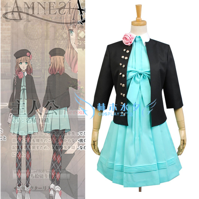 Frauen EXKLUSIVEN Amnesia HEROINE Cosplay Vocaloid Orion Anime Uniform Toma Kleid Sml