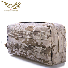 In voorraad FLYYE echte MOLLE Molle SpecOps Horizontale Accessoire Pouch serie grote laterale puinzak CORDURA FY-PH-C023