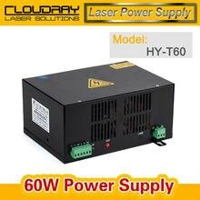 60 W CO2 fuente de Alimentación del Laser del CO2 de Grabado Láser Máquina De Corte HY-T60