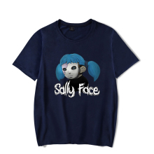 New Confortable T-shirt  Sally Face 3D T-Shirt FaceT-Shirt Tops Boys/Girls Summer Casual T-shirts