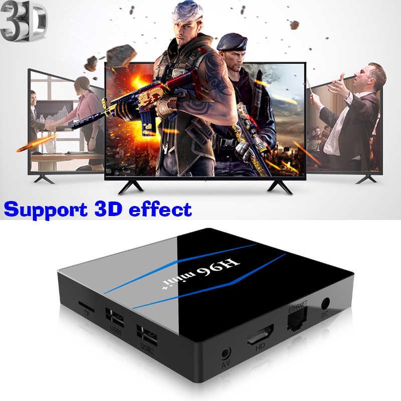 Décodeur intelligent Android 8.1 TV Box RK3229 Quad Core 4 k USB2.0 2 gb 16 gb lecteur multimédia 2.4g WiFi PK X96 MINI Box