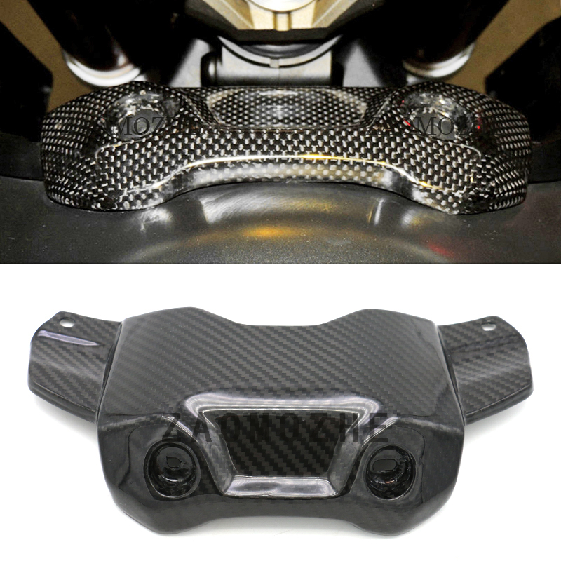 Motorcycle Accessories Carbon Fiber Front Tank Cover Protector For Yamaha MT-09 FZ-09 MT 09 MT09 FZ 09 FZ09 2014 2015 2016 2017