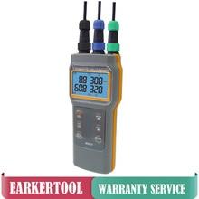AZ86031 Digital Water Quality Meter Handheld PH/Conductivity/Salinity/Dissolved Oxygen/Temperature Testing Device Aquaculture pocket conductivity tester ecscan10h low price conductivity meter