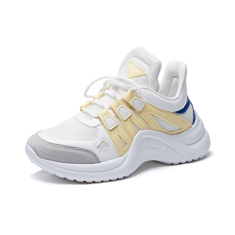 2019 Spring New Big Size Women Running Shoes White Sneaker Women Tenis Hombre Sport Shoes Woman Jogging Fitness Shoes Training in Running Shoes from Sports Entertainment