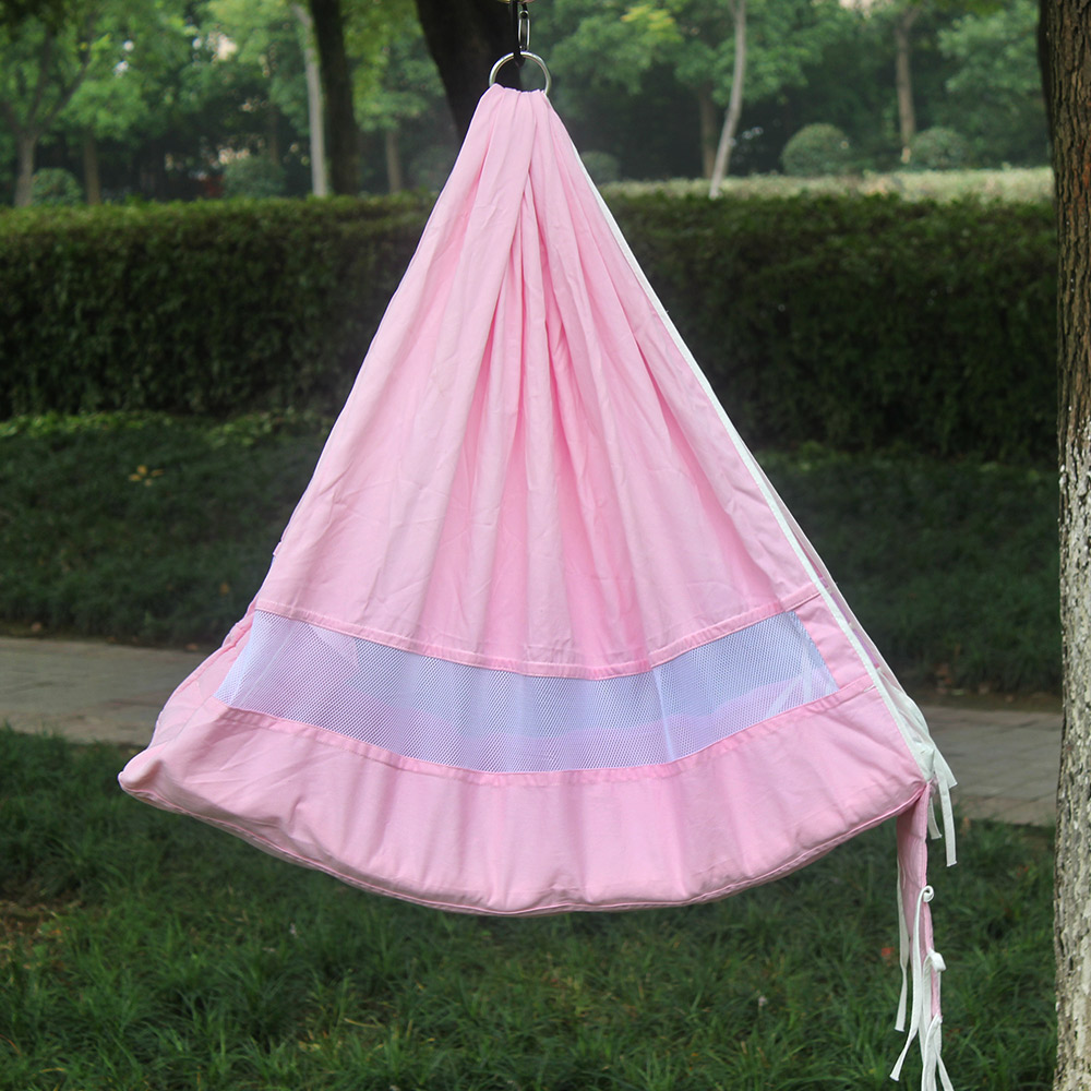 Newborn Baby Swing Bed Cotton Swing Hammock Crib For Kids Hanging swing Chair Indoor Outdoor Play Swing New Baby Swing Rocker