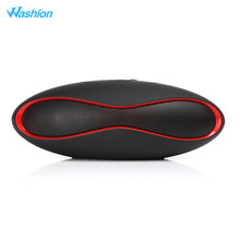Washion X6 Mini Rugby Ball Bluetooth Speaker Wireless Portable Boombox With Mic FM Radio Som Soundbar For IOS Android