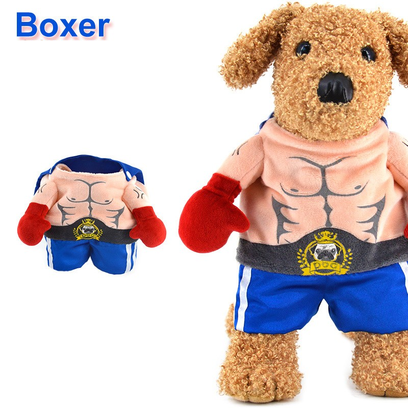 buy funny halloween pet cat dog boxer standing costume cosplay clothes spring small medium dog puppy party jacket coat clothing from