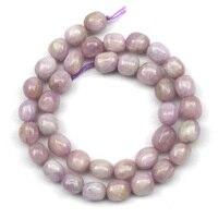 9-10mm freeform Naturalne spodumene/Kunzite kamień koraliki Natural GEM stone beads DIY luźne koraliki do biżuterii dokonywanie darmowa wysyłka