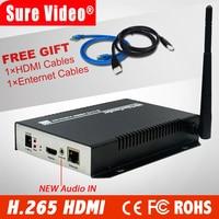 H.265/h.264 hdmi codificador video de áudio de wifi iptv rtsp rtmp onvif hdmi para transmissão ao vivo hdmi av codificador hdmi encoder encoder iptviptv encoder -