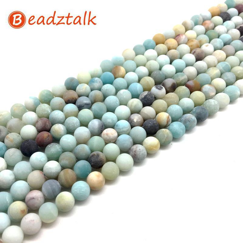 Amazonite lisse Nugget Perles 8-10 mm Turquoise 35 PCS pierres précieuses À faire soi-même Bijoux