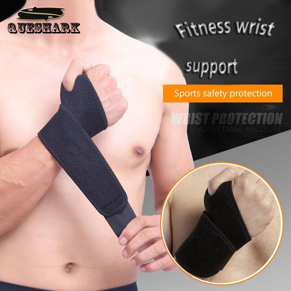 1Pc Adjustable Wristband Weightlifting Wrist Brace Wrist Support Splint Fractures Carpal Tunnel Sport Sprain Wristbands