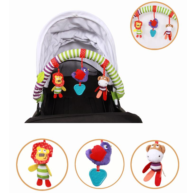 Baby Stroller/bed/crib Hanging Toys For Tots Cots Rattles Seat Cute Plush Stroller Mobile Gifts 88cm Zebra Rattles40% Off Baby & Toddler Toys Toys & Hobbies
