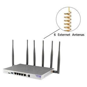 Image 5 - OpenWRT Router wi fi Gigabit obsługa VPN PPTP L2TP 1200 mb/s 2.4GHz/5GHz USB 3.0 Port 3G 4G Router na kartę SIM gniazdo punkt dostępu