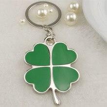 Four Leaf Clover Lucky Keychain