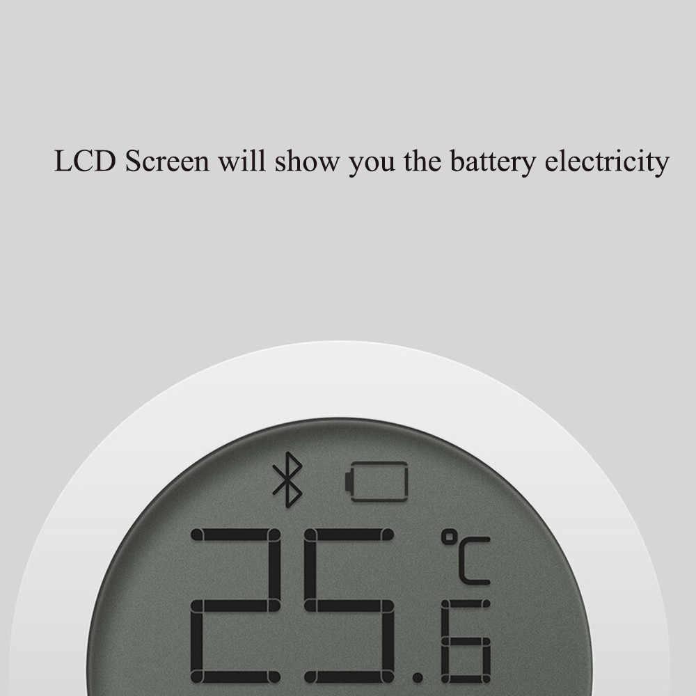Xiaomi mijia bluetooth higrothermograph higrômetro termômetro de alta sensibilidade tela lcd sensor umidade temperatura casa inteligente