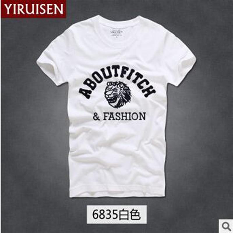 TOP Kwaliteit AF Anjoy & Fitch merk Casual T-shirt 100% katoen Tops & - Herenkleding - Foto 6